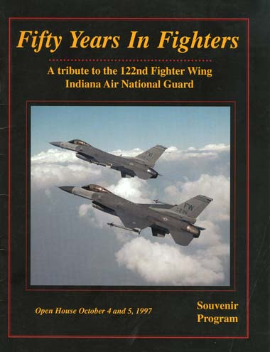 ... Air National Guard. Table Of Contents: Front Cover · Letter From Col.  James K. Wilson · Letter From Gov. Frank Ou0027Bannon · Letter From Mayor Paul  Helmke