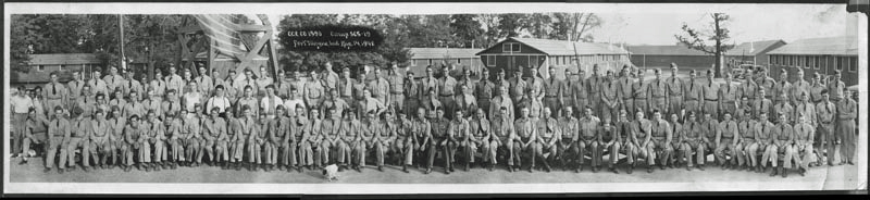 CCC Co. 1590, Camp SCS-19, August 14, 1940, Fort Wayne, Indiana